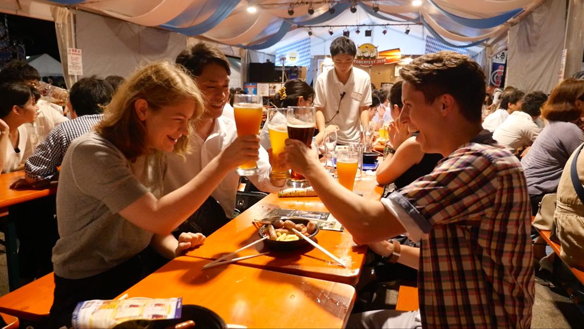 Oktoberfest at Hibiya Park