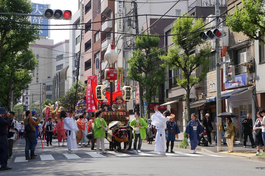 Kanda Matsuri parade