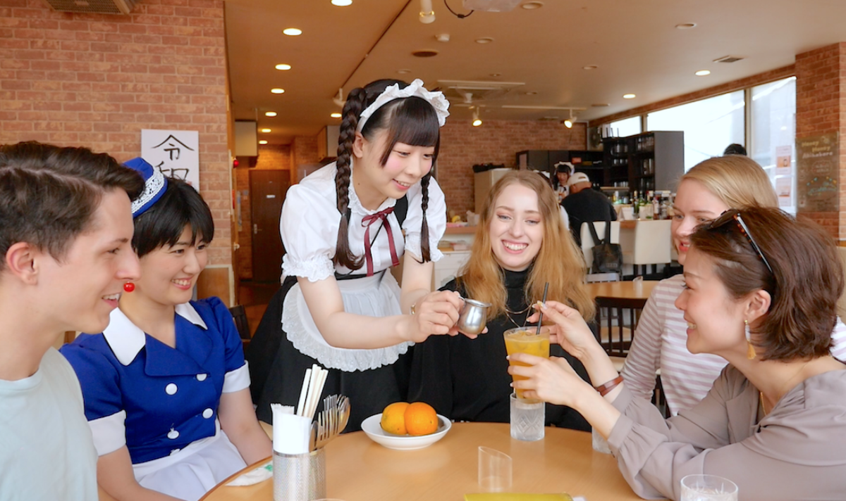 Welcome To The World Of Moe First Visit To A Maid Cafe In Akihabara Visit Chiyoda