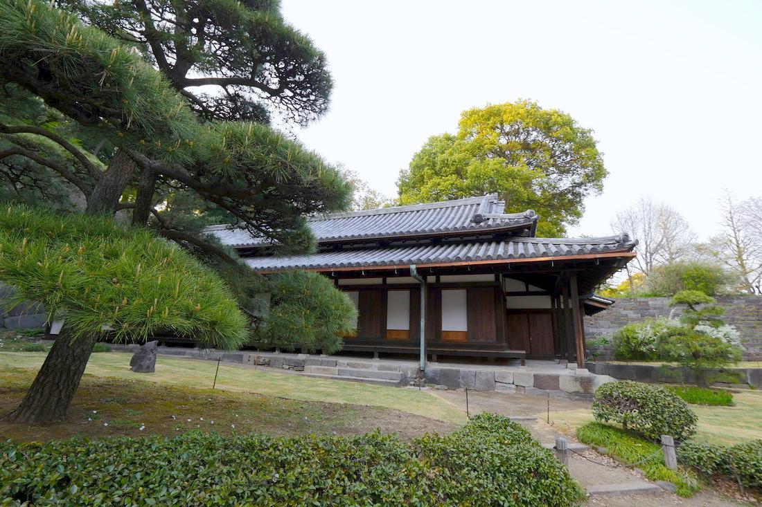皇居東御苑的茶室