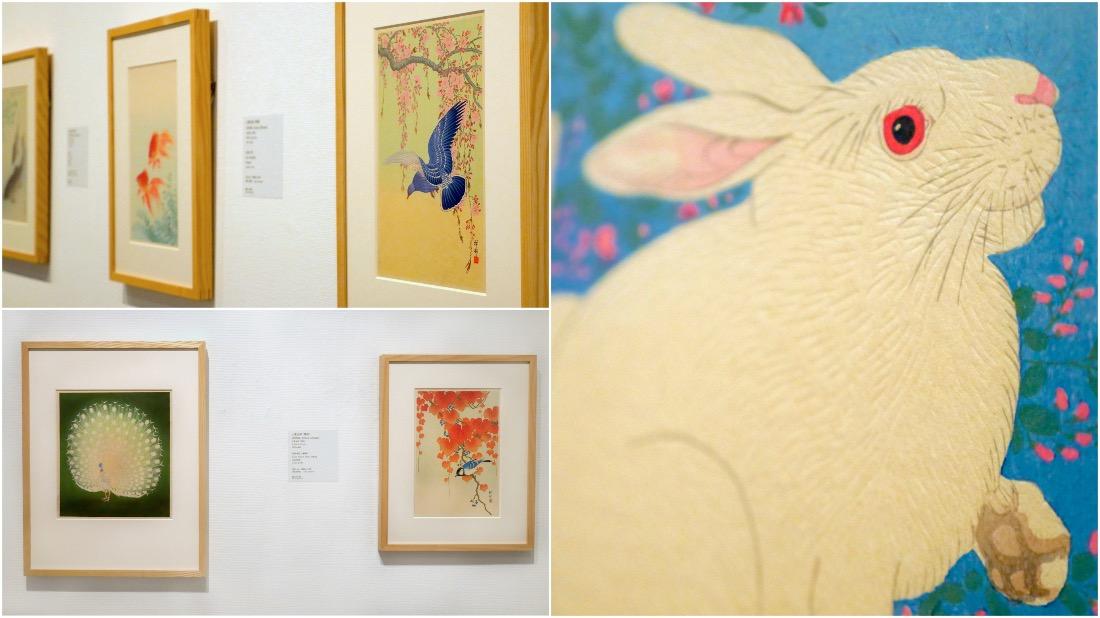 右:小原古村(祥村)《兩只兔子》(1926〜45年)