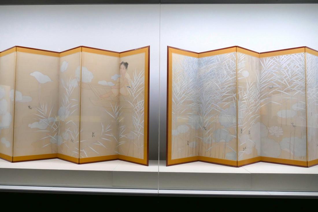 菊池契月(Kikuchi Keigetsu) 《鉄奬蜻蛉》(1913年)