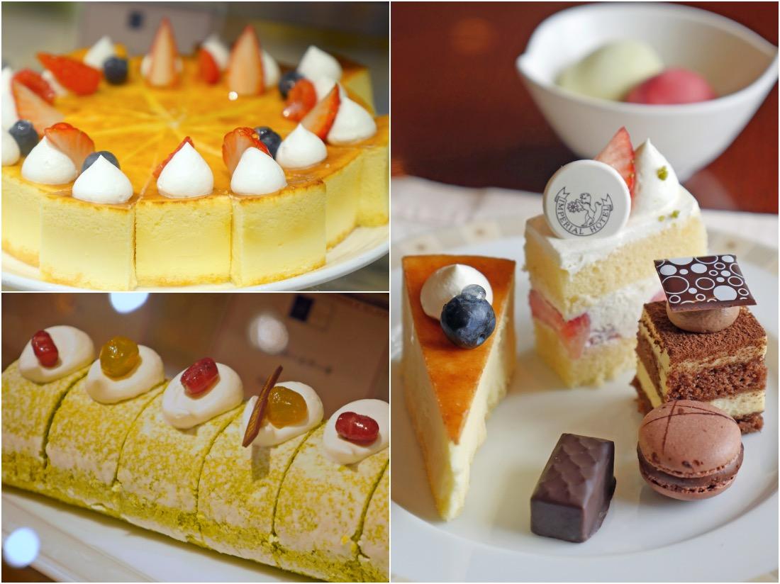 帝國酒店的甜品是一大特色!