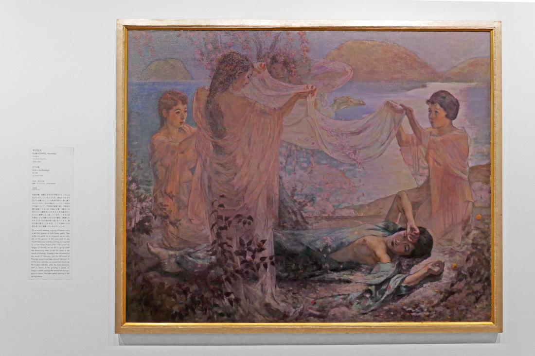 中澤弘光 NAKAZAWA, Hiromitsu《花下月影》(1926年)