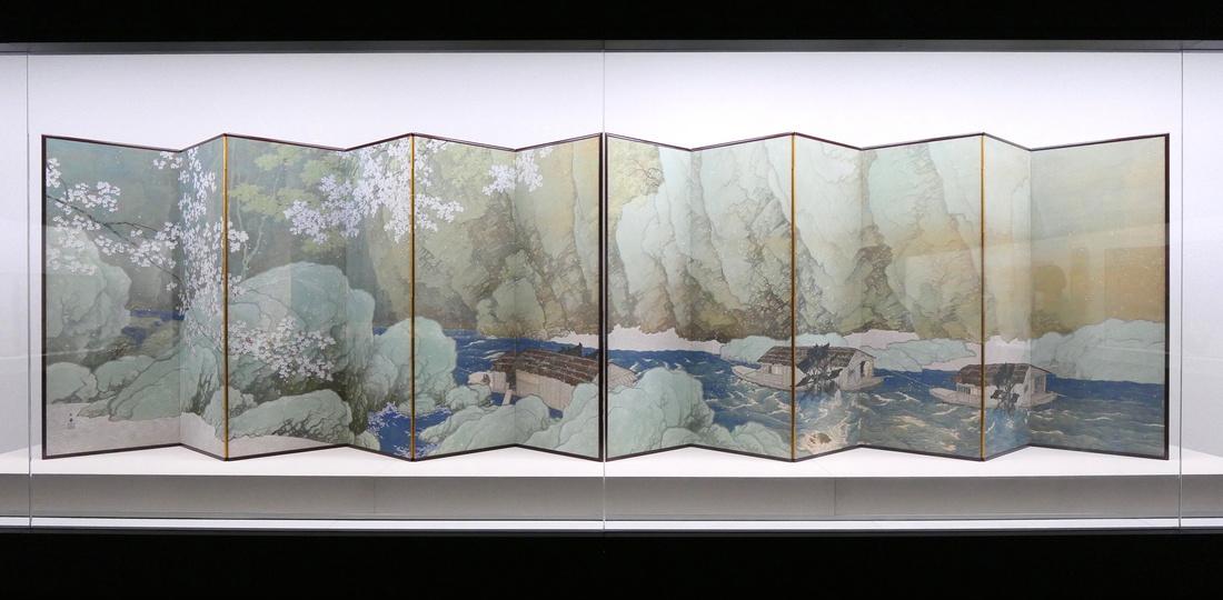 川合玉堂 KAWAI, Gyokudo《晚春》(1916年)重要文化遺產
